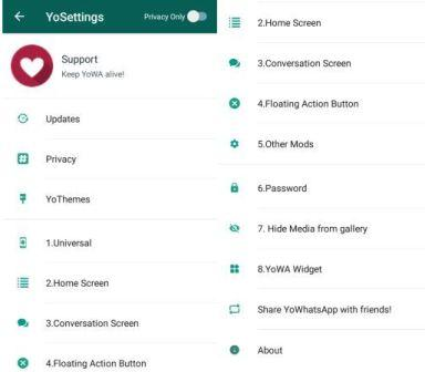 Download YOWhatsApp Mod Apk Latest Version 2018 For Android