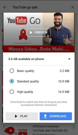 YouTube Go Apk Latest Download