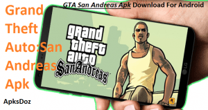 GTA San Andreas Apk Download For Android(Latest MOD Apk + OBB)