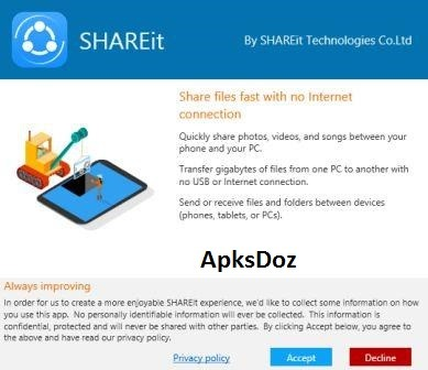 SHAREit For Windows Download
