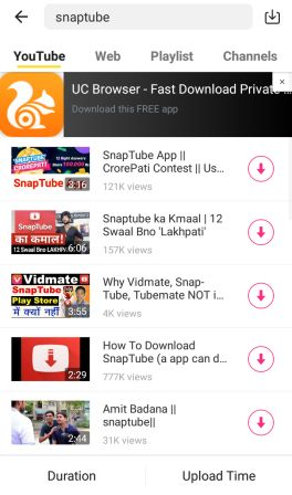SnapTube App Download 2019
