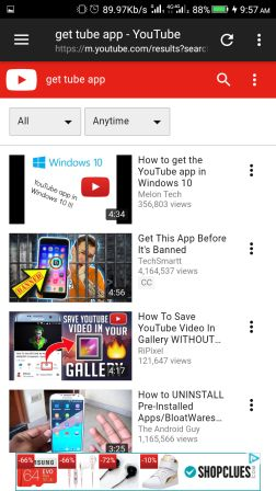 GetTube For Android