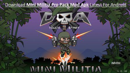 Mini Militia Pro Pack Mod Apk