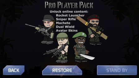 Mini Militia Pro Player pack unlimited