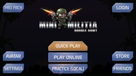 Mini Militia hack mod game
