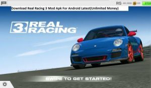 Real Racing 3 Mod Apk Download Free For Android Latest v6.5.1(Unlimited Money)