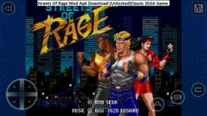 Streets Of Rage MOD APK Download(Unlocked) Latest For Android